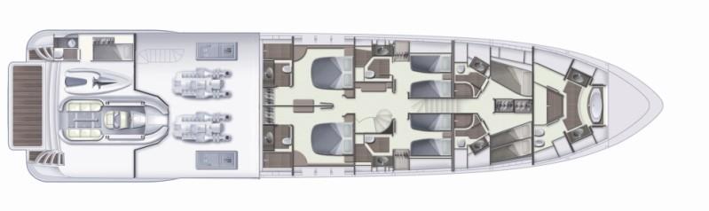 Azimut 105 marina benalnautic for 105 plan